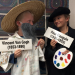 Paul Gauguin Dress Up with Vincent Van Gogh