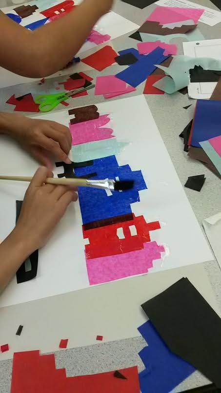 Jacob Lawrence Art Project For Kids