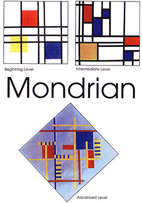 Meet the masters piet mondrian mondrian type balanced for Artists who use shapes in their paintings
