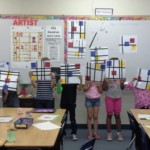 Piet Mondrian - Designs Showing Line, Color, Balance