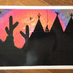 Frederic Remington Art Project For Kids