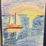 Georges Seurat - Pointillist Seascapes