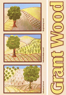 Grant Wood Curriculum Art Projects For Kids