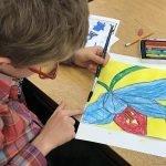 Georgia O'keeffe Artworks For Elementary