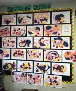 Artworks of Joan Miro